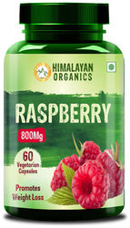 Himalayan Organics Raspberry Ketones Plus with Garcinia and Green Tea Extract for Weight Management- 60 Veg Capsules (1)