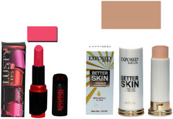 Incolor Soft Creme Lusty Lips Lipstick And Concealer Corrector Stick Pink Pack of 2 (3 8 g Lipstick 5 g Concealer)