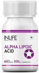 INLIFE Alpha Lipoic Acid 300 mg (60 Vegetarian Capsules)