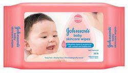 Johnson Johnson Baby skincare wipes 20 pcs