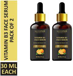 La Conde Vitamin B3 Face Serum 30 ml (Pack of 2)