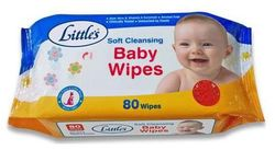 Littles Baby Wipes - Soft Cleansing 80 Wipes