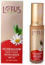 Lotus Herbals Nutraglow Daily Tinted Moisturiser Spf 25 Fresh Ivory T2