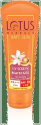Lotus herbals Pa Uva Spf 50 Uvb Matte Gel 50 g(Pack of 2)