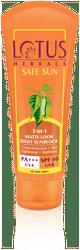 Lotus Herbals 3-In-1 Matte Look Daily Sunblock Spf 40 - 50 g
