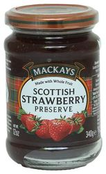Mackays Preserve - Scottish Strawberry 340 g