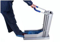 MERINO INTERNATIONAL Automatic Shoe Cover Dispenser Machine With 100 pcs (50 Pairs) Disposable Shoe Covers (Model - MI-100)