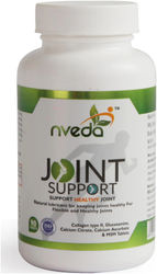 Nveda Joint Support 90 tablets for keeping Joints healthy containing Collagen Type 2 Glucosamine Calcium and MSM (90 No)