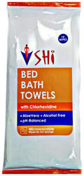 SHI Bed Bath Towel Take bath without water pack of 10 Wipes