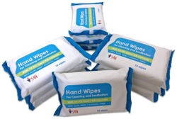SHI HAND SANITIZING WIPES PACK OF 10 PACK X 15 WIPES
