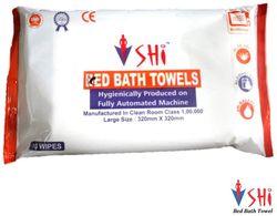 SHI Hygiene Bed Bath Towel Wet Wipes For Face Men Women Cleansing Refreshing Sponge Bath Pack of 1