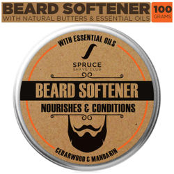 Spruce Shave Club Beard Softener For Softer Stronger Beards Cedarwood Mandarin