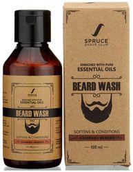 Spruce Shave Club Beard Wash For Cleaner Stronger Beards Cedarwood Mandarin