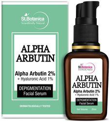 StBotanica Alpha Arbutin 2 and Hyaluronic Acid 1 Depigmentation Face Serum 20ml