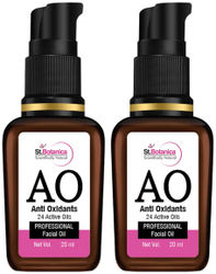 StBotanica Anti Oxidant (24 Active Oils) Professional Face Oil 20 ml each (Pack Of 2)