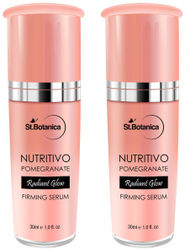 StBotanica Nutritivo Pomegranate Radiant Glow Moisturiser Spf 30 - Brightening Nourishing Clear Complexion 60 ml each (Pack Of 2)