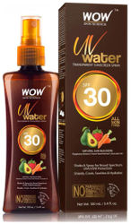 WOW Skin Science UV Water Transparent Sunscreen Spray SPF 30 - 100 ml(Pack of 1)