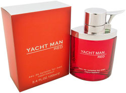 Yacht Man Red by Myrurgia Eau De Toilette Spray for Men 3 40 Ounce