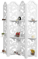 AAMAZING Shilpi Wooden Partition wooden Room Divider wooden Screen wooden seperator