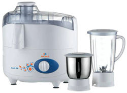 Bajaj FRESH SIP 450 W Juicer Mixer Grinder ( White 2 Jars )