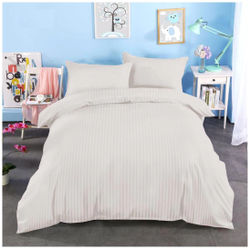 Gifty Cotton Abstract Double Size Bedsheet 250 TC ( 1 Bedsheet With 2 Pillow Covers Multi )
