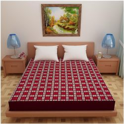 Glassiano Poly cotton Single beds Mattress protectors