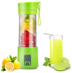 QUXXA Portable Juicer Mixer Grinder Purple 0 Juicer Mixer Grinder (Green 1 Jar)