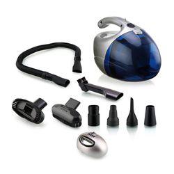 Nova NVC-2765 Handheld Vacuum Cleaner ( Blue Grey )