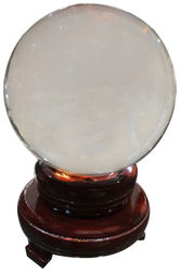 Vyne 100 mm crystal ball with stand