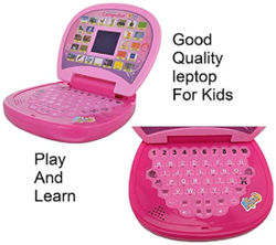 Educational Learning Kids Laptop With LED Display Music WWR - 23