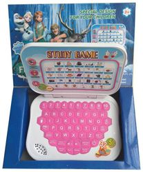 Frozen Study Game Kids Mini Laptop English Learner Study Game Computer Notebook Toy By Signomark