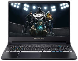 Acer Predator Triton PT315-52 Gaming Laptop (Intel Core i5-10th Gen 8 GB RAM 512 GB SSD 39 62 cm (15 6 inch) FHD Windows 10 Home 4 GB GTX 1650Ti Graphics) NH Q9YSI 002 (Abyssal Black 2 5 kg)