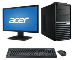 Acer Veriton (Intel Core i5-7th Gen 4GB RAM 1TB HDD 19 5 inch DOS) M200-H110 (Black)