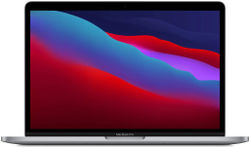 Apple MacBook Pro with Apple M1 Chip (13-inch 8GB RAM 512GB SSD) - Space Grey (Latest Model) MYD92HN A