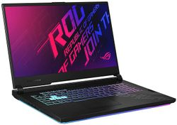 ASUS ROG Strix G17 G712LU-EV013T (10th Gen Intel Core i7-10750H 16GB RAM 512GB SSD RGB Backlit 4-Zone 144 Hz Gaming GTX 1660Ti 6GB Windows 10 WiFi 6 Black - 17 3 Inch Full HD)