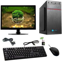 Gandiva Economical CI31ST Desktop Computer Intel Core i3-1st Gen 8 GB RAM 1 TB HDD Windows 10 NVIDIA Quadro 2 GB Graphics 15 6 inch Monitor WiFi Windows 10 MS Office(Trial Version) Free Antivirus