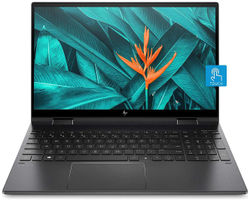 HP Envy x360 (AMD Ryzen 5- 3rd Gen 8 GB RAM 512 GB SSD 33 78 cm (13 3 inch) Windows 10) 13-ay0045AU (Night Fall Black 1 32 kg)
