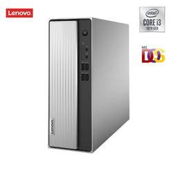 Lenovo IdeaCentre 3i Desktop (10th Gen Intel Core i3-10100 4GB 1TB HDD DOS Integrated Intel UHD Graphics WiFi 5 Bluetooth 5 0) (90NB0020IN)