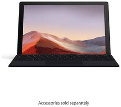 Microsoft Surface Pro 7 M1866 31 24 cm (12 3 inch) Laptop (10th Gen Intel Core i5-1035G4 8GB 256GB SSD Windows 10 Home Intel Iris Plus Graphics) Black Without Keyboard