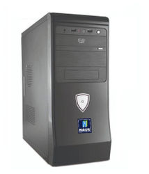 NAVS Budget Gaming PC (Intel Core i3-9th Gen 8 GB RAM 1 TB HDD Windows 10 Pro NVIDIA Geforce GT 710 2 GB Graphics) Mid Tower with MS Office (Black)