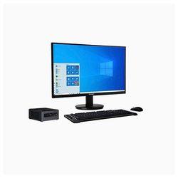 RDP Edge PC CML1031DA - Intel Core i3-10110U Processor up to 4 10 GHz 4 GB RAM 500 GB HDD 500 GB SSD 19 5 inch HD LED Monitor Free DOS Intel Integrated With Numeric Keypad