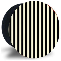 Emble Designer Pop Socket Black and White Line