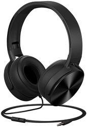 PLATINA On-Ear Wired Headphone ( Black )
