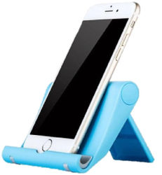 Tech-X Tablet and Cell Phone Stand Holder Multi-Angle Durable Anti-Slip Landscape and Portrait made for Apple iPad and Any Devices from 4 -12 ( Assorted Colors)