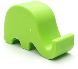 Techvik Desktop Mobile Holder (Green)