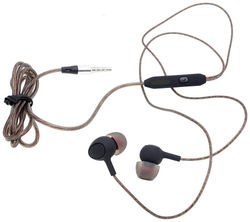 Mobality In-Ear Wired Headphone ( Brown )