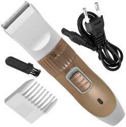 JM 277A Nava Men Cordless Electric Rechargeable Beard Mustache Hair Trimmer Trimmer (White)