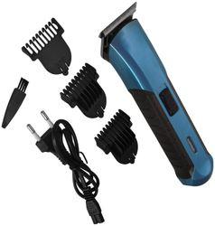 JM TR 279 Cordless Electric Rechargeable Beard Hair Trimmer for Men (Blue)