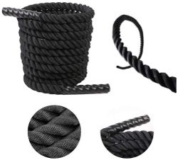 45 m Cross Fit Rope The Ultimate Fitness Battle Rope 38 mm Thickness Exercise Fitness Training Equipment Rope