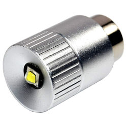 HQRP Ultra Bright 300Lm High Power 3W LED Bulb for Maglite 3-6D 3-6C Flashlights